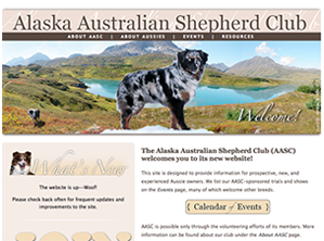 Alaska Australian Shepherd Club Website